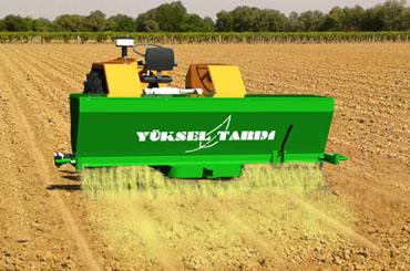 Toprak Kükürtleme Makinesi